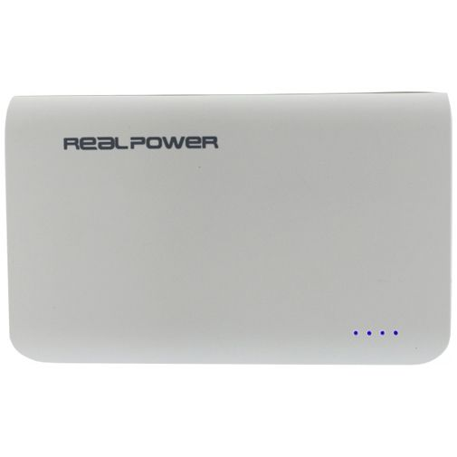 RealPower Powerbank 6000 mAh White