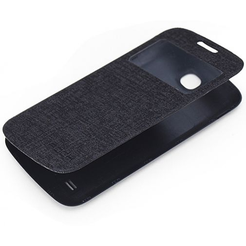 Rock Flip Case Magic Preview Black Samsung Galaxy S4 Mini