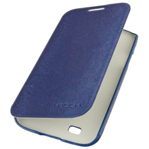 Rock Side Flip Case Big City Series Samsung Galaxy Grand Duos Blue
