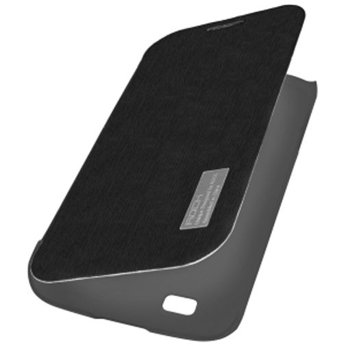 Rock Side Flip Case Elegant Galaxy Grand Duos/Neo black