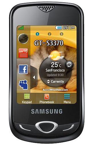Samsung S3370 Acton Black