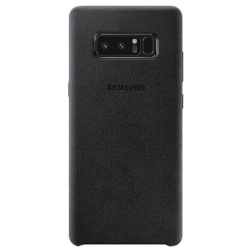 Samsung Alcantara Back Cover Black Galaxy Note 8