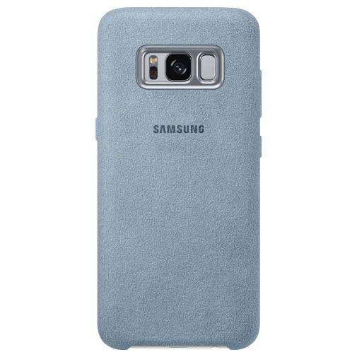 Samsung Alcantara Back Cover Grey Galaxy S8