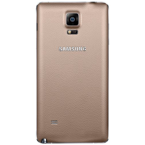 Samsung Back Cover Gold Galaxy Note 4