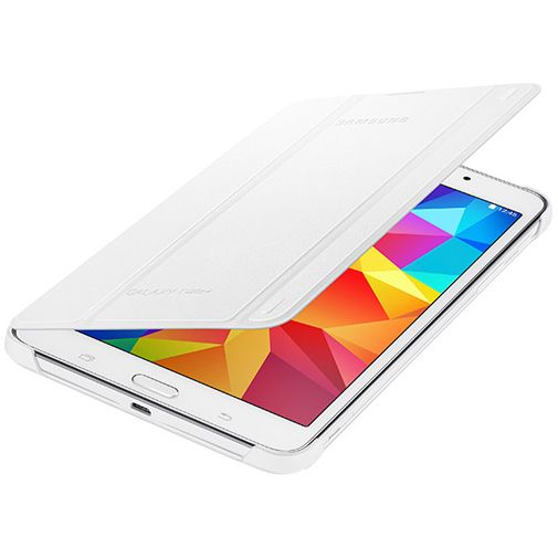Samsung Tab Book Cover White : Samsung book cover white galaxy tab
