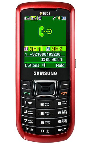 Samsung C3212 DUAL Red