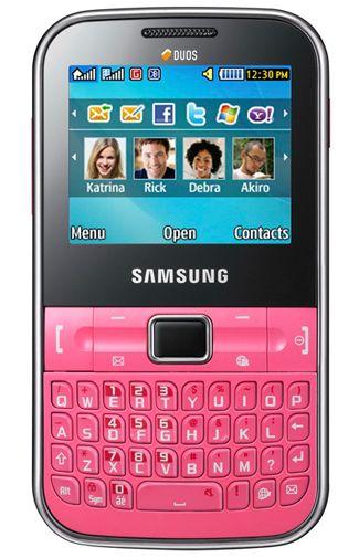Samsung C3222 Chat DuoSim Pink