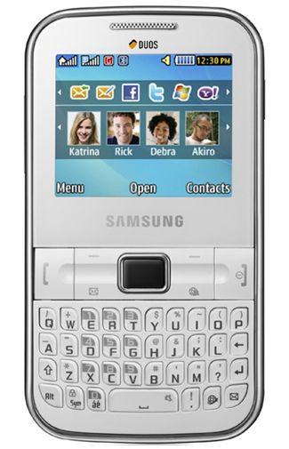 Samsung C3222 Chat DuoSim White