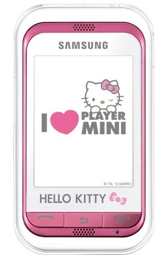 Samsung C3300 Star Mini Hello Kitty