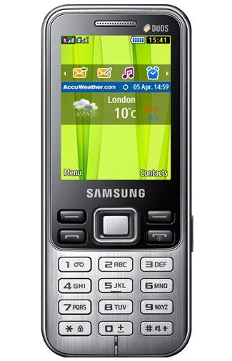 Productafbeelding Samsung C3322 DUAL Metallic Black