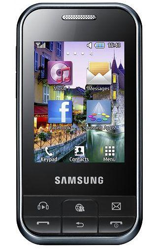 Samsung C3500 Ch@t Dark Silver
