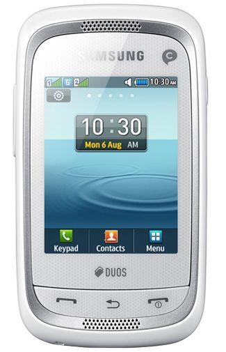 Samsung Champ Neo Duos C3262 White