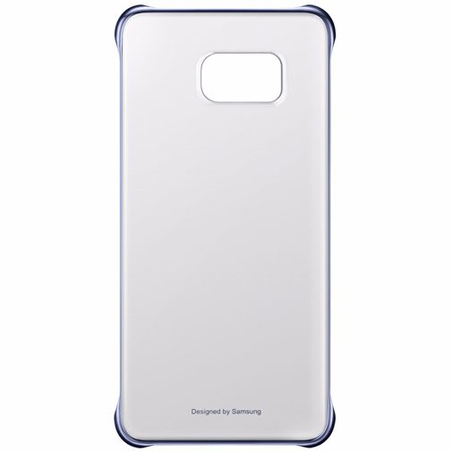 Samsung Clear Cover Blue Black Galaxy S6 Edge Plus