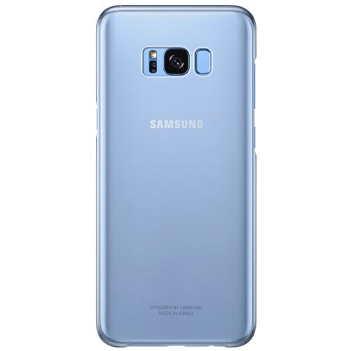 Samsung Clear Cover Blue Galaxy S8+