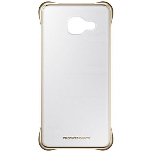 Productafbeelding van de Samsung Clear Cover Gold Galaxy A3 (2016)