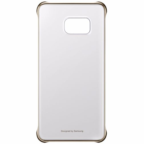 Samsung Clear Cover Gold Galaxy S6 Edge Plus