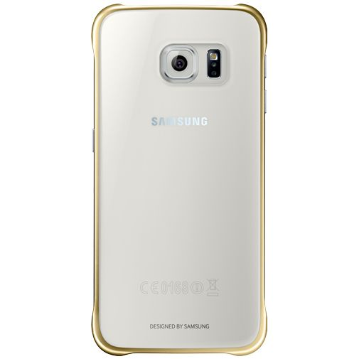 Samsung Clear Cover Gold Galaxy S6