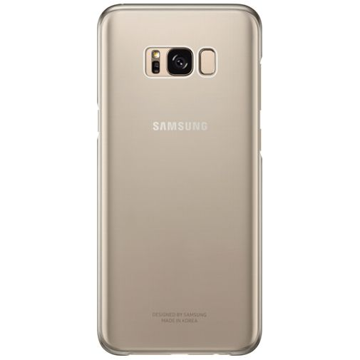 Samsung Clear Cover Gold Galaxy S8+