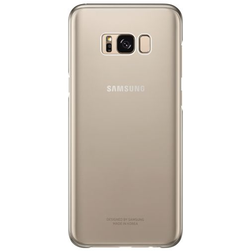 Samsung Clear Cover Gold Galaxy S8