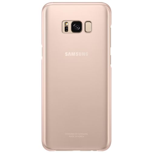 Samsung Clear Cover Pink Galaxy S8
