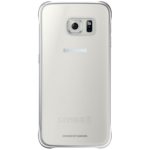 Samsung Clear Cover Silver Galaxy S6