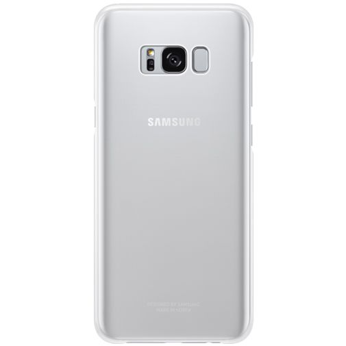 Samsung Clear Cover Silver Galaxy S8+