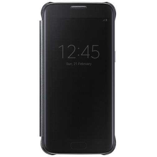 Samsung Clear View Cover Black Galaxy S7