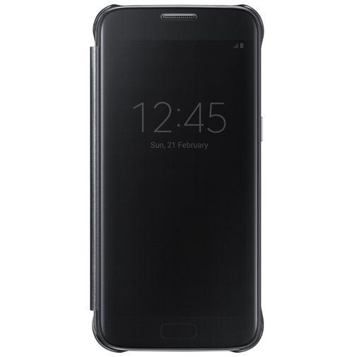 Productafbeelding van de Samsung Clear View Cover Black Galaxy S7