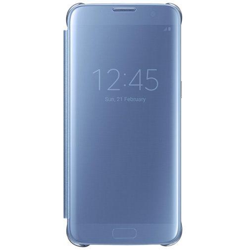Samsung Clear View Cover Blue Galaxy S7 Edge