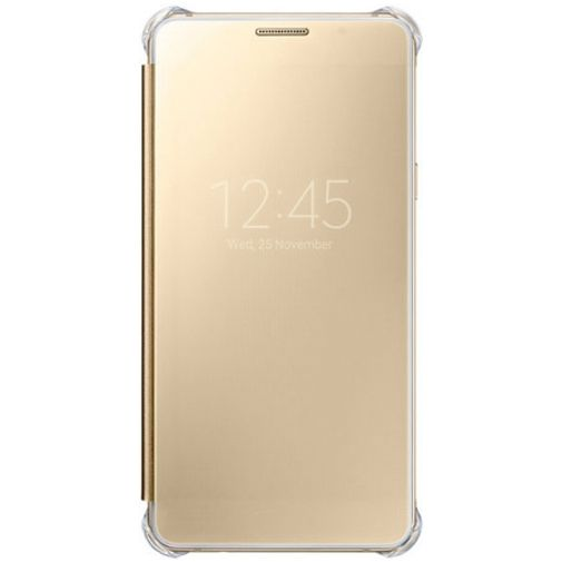 Samsung Clear View Cover Gold Galaxy A5 (2016)