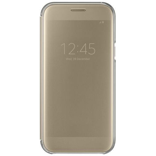 Samsung Clear View Cover Gold Galaxy A5 (2017)