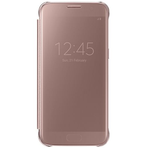samsung clear view cover rose gold galaxy s7 accessoiredetails. Black Bedroom Furniture Sets. Home Design Ideas