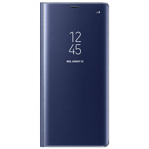 Samsung Clear View Standing Cover Blue Galaxy Note 8