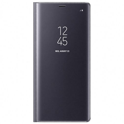 Samsung Clear View Standing Cover Grey Galaxy Note 8