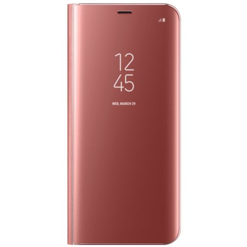 Samsung Clear View Standing Cover Pink Galaxy S8+