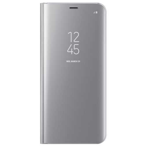 Samsung Clear View Standing Cover Silver Galaxy S8+