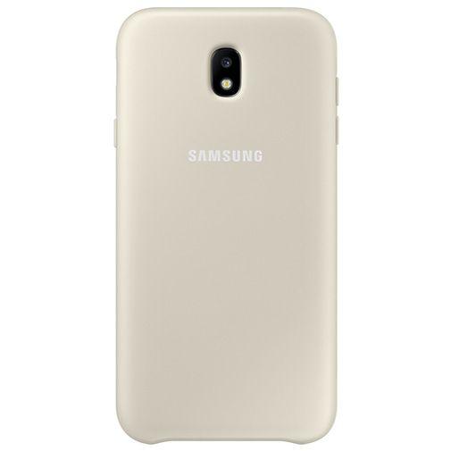 Samsung Dual Layer Cover Gold Galaxy J7 (2017)