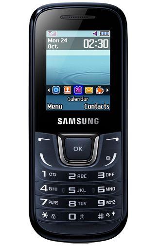 Samsung E1280 Blue Black