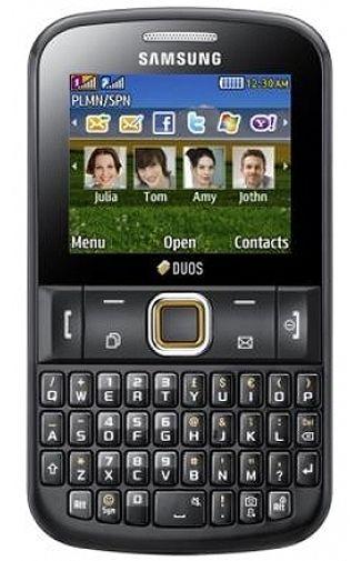 Samsung E2222 Ch@t Dual Black