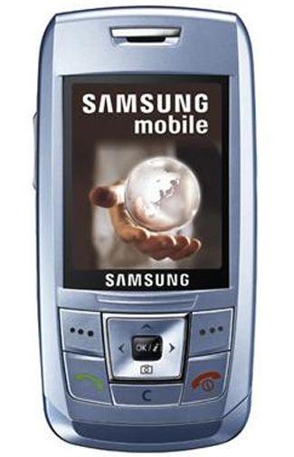 Samsung E250 Blue