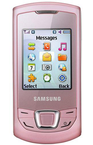 Samsung E2550 Monte Slider Pink