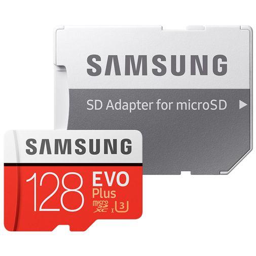 Samsung Evo+ microSDXC 128GB Class 10 + SD-Adapter