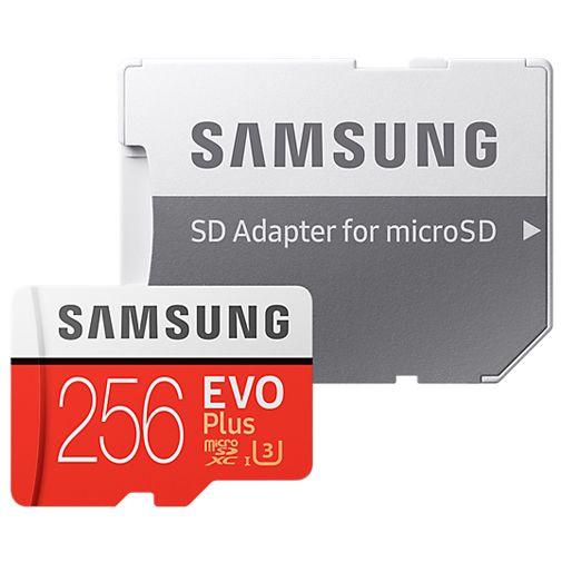 Samsung Evo+ microSDXC 256GB Class 10 + SD-Adapter