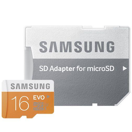 Samsung Evo microSDHC 16GB Class 10 + SD-adapter
