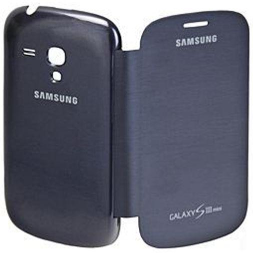 Productafbeelding van de Samsung Flip Cover Galaxy S3 Mini (VE) Blue