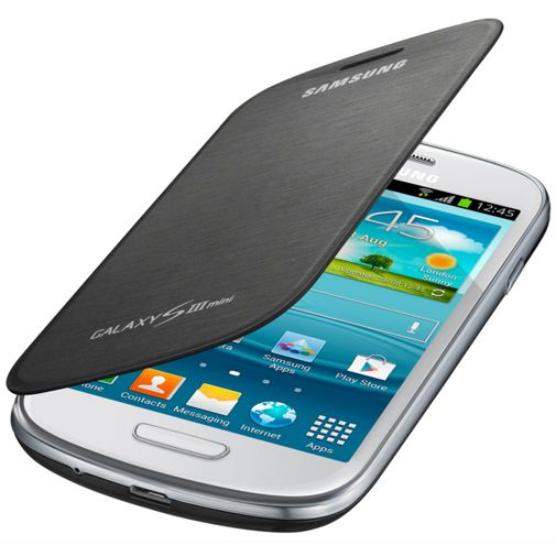 Samsung Flip Cover Galaxy S3 Mini (VE) Grey