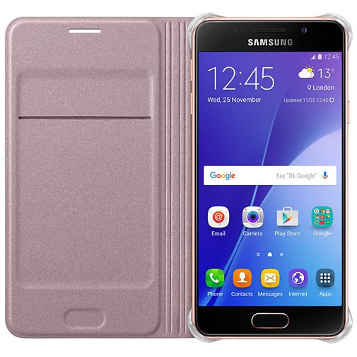 Samsung Flip Cover Rose Gold Galaxy A3 (2016)
