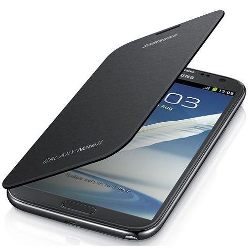 Samsung Flip Cover Samsung Galaxy Note 2 Silver