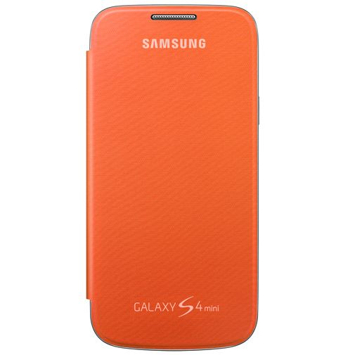 Productafbeelding van de Samsung Flip Cover Samsung Galaxy S4 Mini Orange