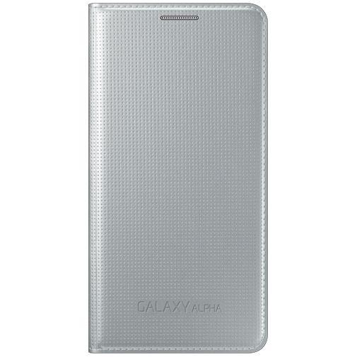 Samsung Flip Cover Silver Galaxy Alpha
